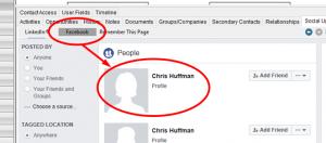 Choosing Facebook
